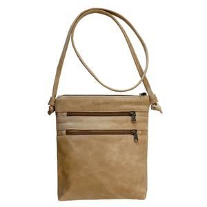 Bilde av Knotted Bag - Lys brun skinnveske
