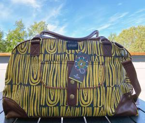 Bilde av Travel bag  - Seeds sennepsgul