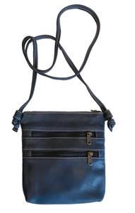 Bilde av Small Knotted Bag Navy - Liten blå