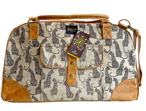 Bilde av Travel bag Leopard - Lys weekendbag med
